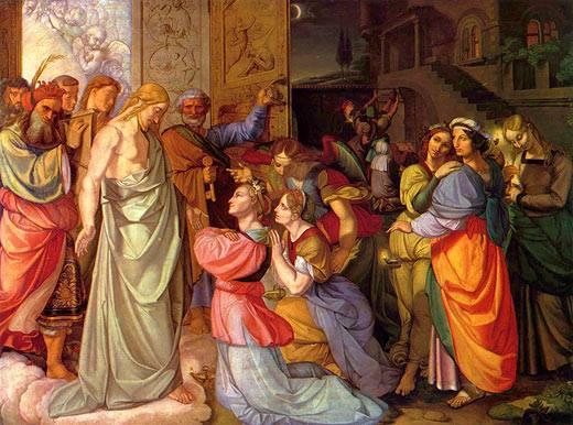 Le dieci Vergini di Peter von Cornelius